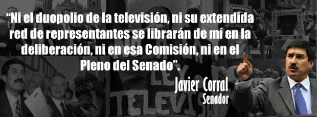 Corral: EPN, hechura de Televisa